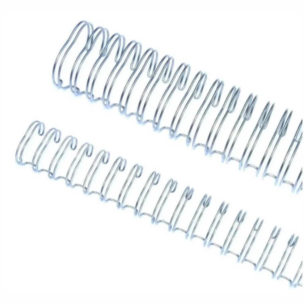 Wire-o Para Encadernação 2x1 A4 Prata 1 1/4 270 Fls 12un