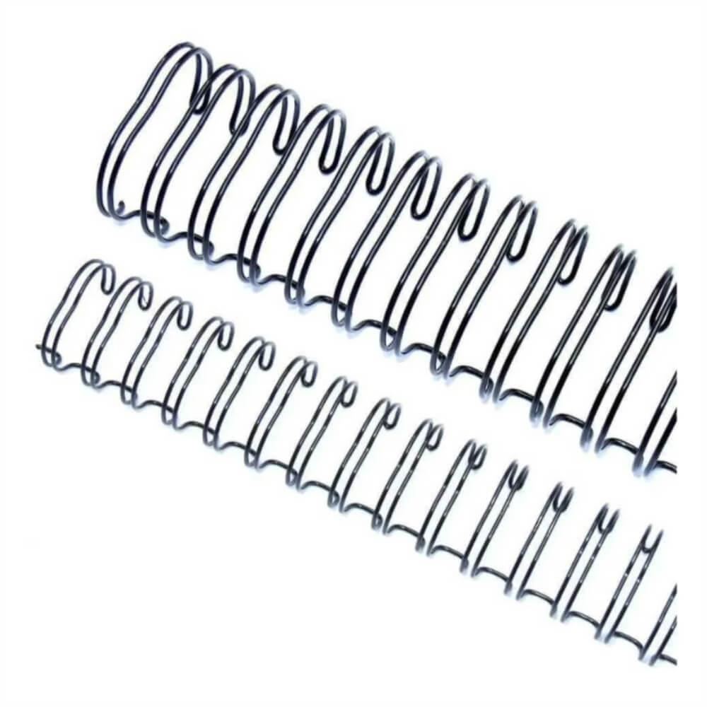 Wire-o Para Encadernação 2x1 A4 Preto 1 1/4 270 Fls 12un
