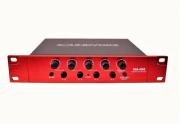 Amplificador 4 Fones de Ouvido Sha4000 P10 Com Mute Profissional Soundvoice