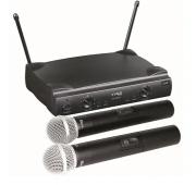 Microfone duplo Sem Fio Uhf  Tag Sound Tm559B