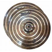 Prato Bateria Zeus Spiral Hi Hat 15 B20 Chimbal Zsphh15