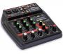 MESA DE SOM COMPACTA SOUNDVOICE MC4BT INTERFACE + USB