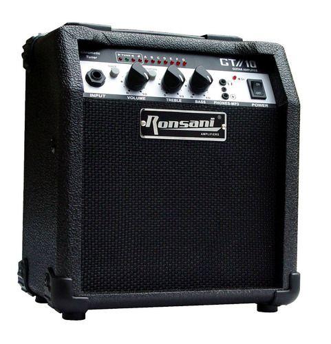 Amplificador Cubo Caixa Guitarra Com Distorção Estudo Barato