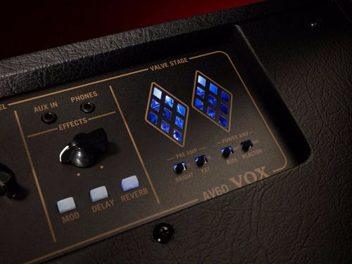 Amplificador Cubo Caixa Guitarra Combo Vox Av60 Válvulado Pr