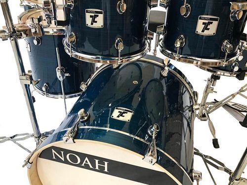 Bateria Acústica Profissional Noah Nell Drums 7 Peças Pro