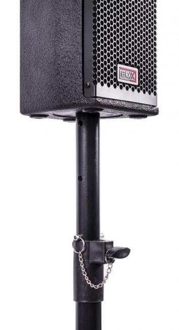 Caixa Som Coluna Torre Sub Ativa Vertical 600w Usb Pro