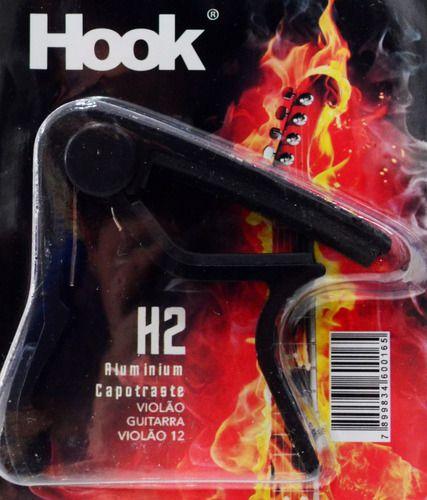 Capotraste Hook H2 Preto