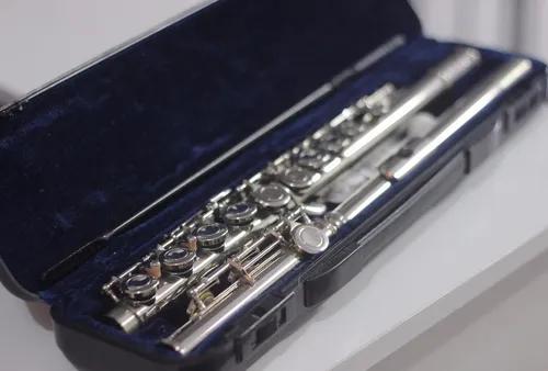 Flauta Transversal Vogga Vsfl 701 Niquelada Com Case