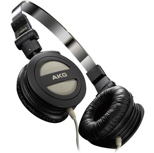 Fone Dobrável Profissional Retorno Monitor Akg 404 Original