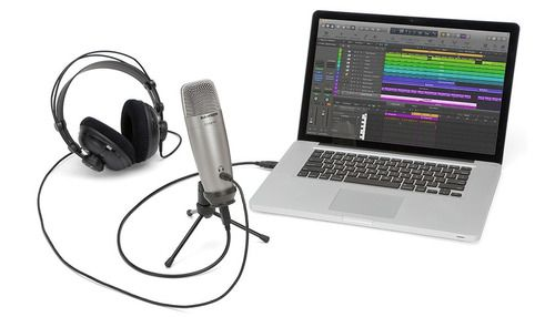 Microfone Condensador Usb Profissional Samson Co1u Pro