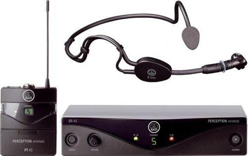 Microfone Original Sem Fio Auricular Cabeça Akg Sseta 45