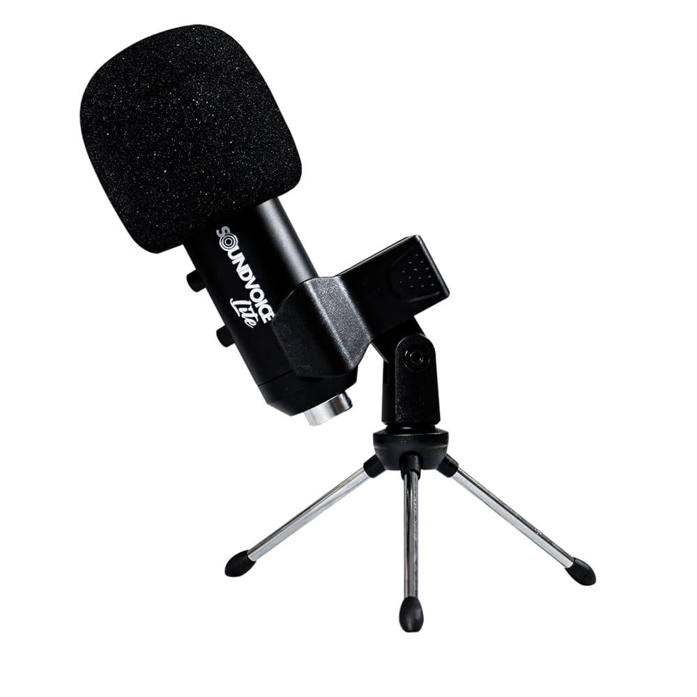 MICROFONE COM PADRAO POLAR SOUNDVOICE LITE SOUNDCASTING 800X