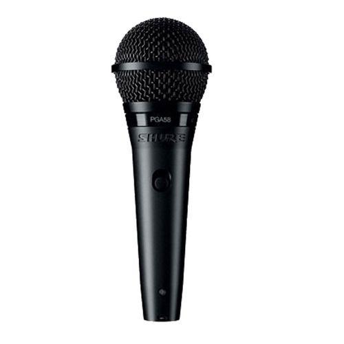 Microfone Shure Com Fio Cardioide Pga-58 Profissional Origin