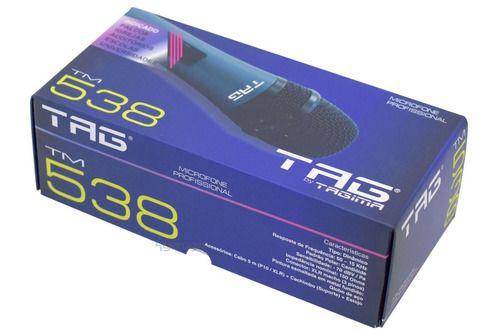 Microfone Tag Sound Tagima Com Fio Tm-538 Cabo 5m