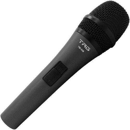 Microfone Tag Sound Tagima Com Fio Tm-538 Cabo 5m Igreja