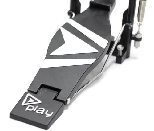Pedal Simples Bumbo Bateria Com Correia