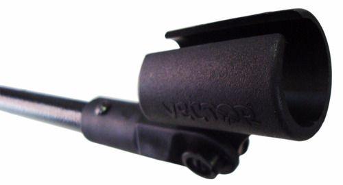 Pedestal Suporte Microfone Com Cachimbo Vector Pmv-01-p