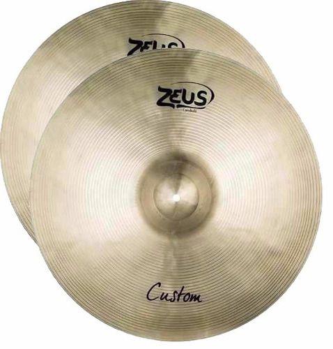 "Prato chimbal Hi-hat Chimbal14"" Zeus Custom"