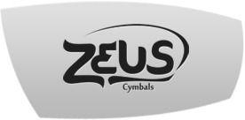 Prato Para Bateria Crash 17  Zeus Custom