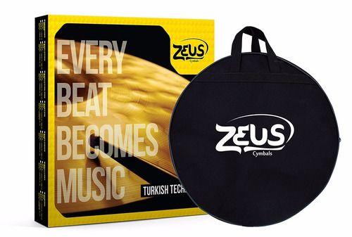 Set Prato Bateria Zeus Custom E Profissional 14 16 18 21 10