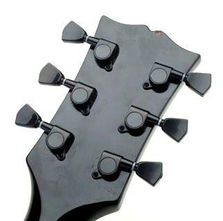 Tarraxa Tarracha Para Guitarra Les Paul Sg Preta Blindada