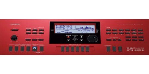 Teclado Casio Ctk 6250 61-teclas 700 Tons 210 Ritmos
