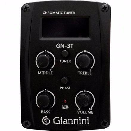 Violão Aço Elétrico Giannini Folk Afinador Gf-1d Fosco