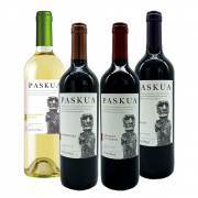 4Un Vinhos Paskua (Cabernet Sauvignon, Caménère, Merlot e Sauvignon Blanc)
