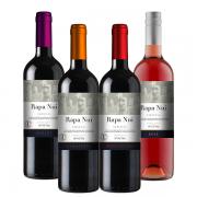 4Un Vinhos Rapa Nui (Cabernet Sauvignon, Caménère, Merlot e Rosé)