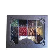 Gin VOXX 950ml, Box Especiarias Sortidas, 6Un Tônica Schweppes 350ml, Taça Muf's