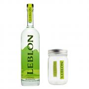 Cachaça Leblon com Copo para Drink Leblon