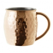Caneca Moscow Mule Inox Bronze MimoStyle 470ML