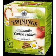Chá Twinings Camomila, Canela e Maçã 15g