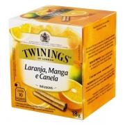 Chá Twinings Laranja, Manga e Canela 18g