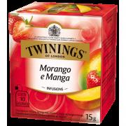 Chá Twinings Morango, Manga 15g
