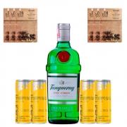 Drink In House - Gin Tanqueray 750ml, 4un Red Bulls, 3un Sachês de Especiarias Sortidos