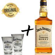 Jack Daniel's Honey + 2 Copos Shot