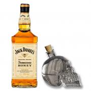 Jack Daniel's Honey Com Garrafa Caveira