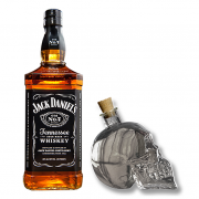 Jack Daniel's Old Nº7 Com Garrafa Caveira