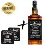 Jack Daniels Old NO.7 1L com 2 Barmats Pequenos