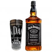 Jack Daniels Old NO.7 1L com Copo Térmico Jack Daniel's Nº7