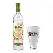 Ketel One Botanical Peach & Orange Blossom 750ml com Copo Oficial Ketel One