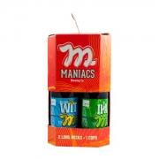 Kit - 2 Cervejas Artesanal Maniacs + 1 Copo