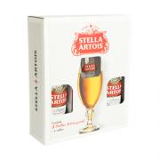 Kit - 2 Cervejas Stella Artois + 1 Taça