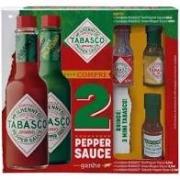 Kit 2 Molhos de Pimenta Pepper Sauce Tabasco 60ml