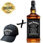 Kit Jack Daniel's + Boné Exclusivo Preto