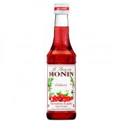 Miniatura Monin Cranberry 250ml