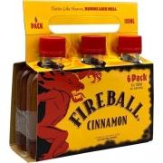 Pack Miniatura Fireball Cinnamon 50ML