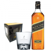 Whisky Black Label + Copo Especial