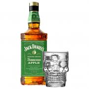 Whisky Jack Daniel's  Apple + Garrafa ou Copo Caveira